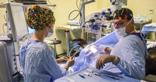 Медицински сестри в Очно отделение